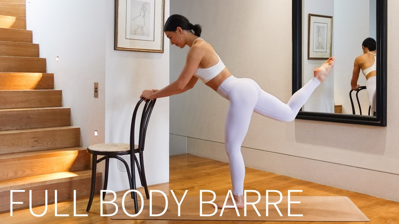 FULL BODY BARRE & PILATES    35 Minute At-Home Sculpting Workout