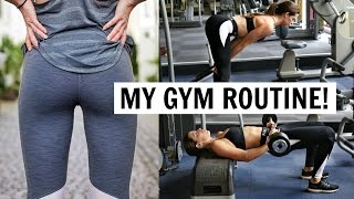 BUTT AND THIGH WORKOUT! | MY GYM ROUTINE!
