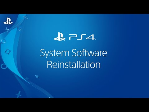 Reinstalling System Software | PS4