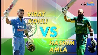Virat Kohli vs Hashim Amla: Modern-day greats