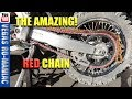 🤔  THE MAGIC behind the best RED DIRTBIKE CHAIN 🤔