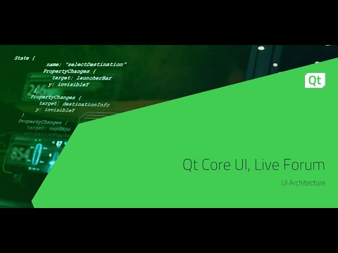 Qt Core UI, Live Forum {On demand webinar}