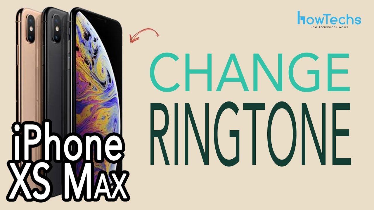 ringtone iphone xs
