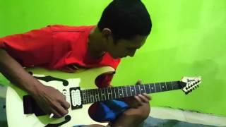 Cover lead guitar Slank mawar merah