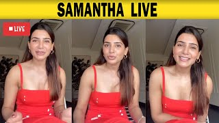 Samantha Motivating in Live - 30-07-2020 Tamil Cinema News