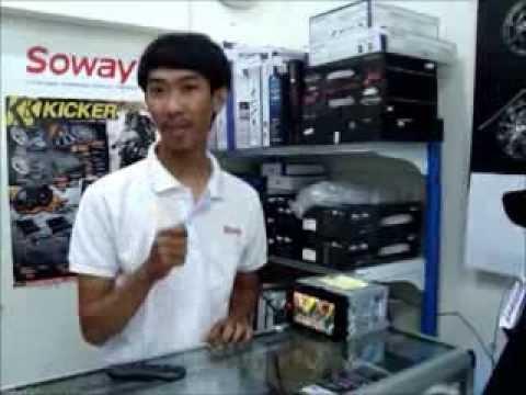 เครื่องเล่นDVD รถยนต์ 2 DIN JVC การตัดเสียงร้องคาราโอเกะ ราคา โทร.036-421229 By..PoneLopBuri
