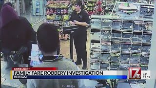Durham gas station robbed at gunpoint Thursday morning
