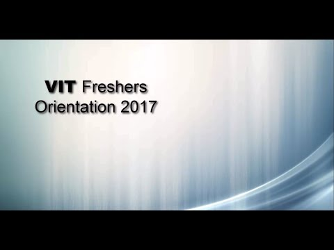 VIT FRESHERS ORIENTATION AND DEMO ON FFCS REGISTRATION & VIT CHENNAI HOSTEL AND MESS DETAILS