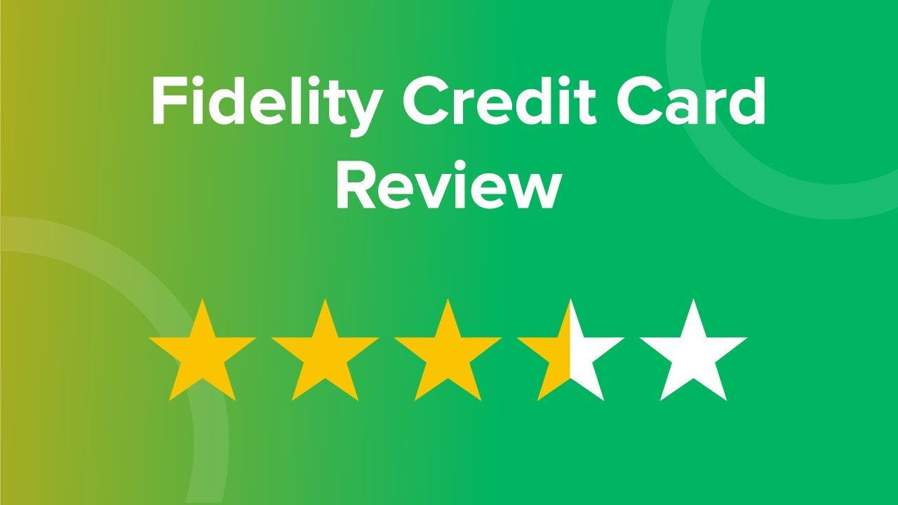 How To Check Your Citi Credit Card Application Status Wallethub >> Fidelity Credit Card Review