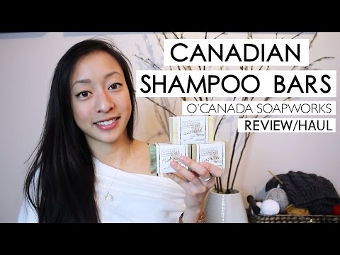 I FOUND All-Natural Canadian Shampoo Bars!! #NoPoo