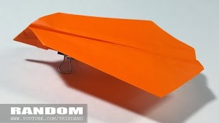 Origami for Kids: How to make a Paper Airplane that Flies | Random