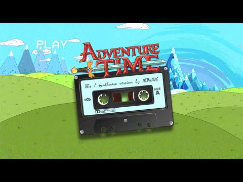 Adventure Time Theme Song synthwave  80s version  ALTWAVE