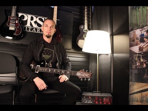 PRS Mark Tremonti MT-15 amp interview and demo at NAMM 2018