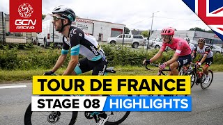 Tour de France 2021 Stage 8 Highlights   Race Blown Apart In the Alps!