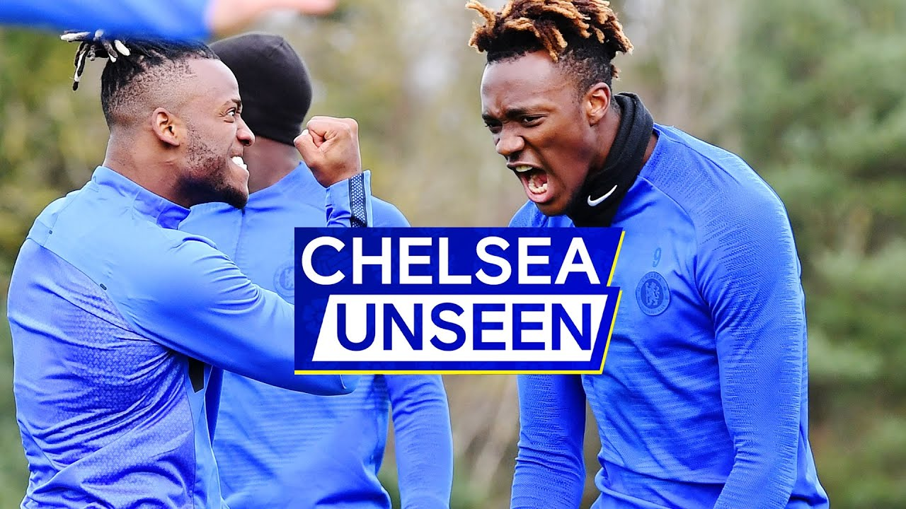 Tammy Abraham Back in Training...and Nutmegs Jorginho! 😱Ruben Loftus-Cheek in Squad | Chelsea Unseen