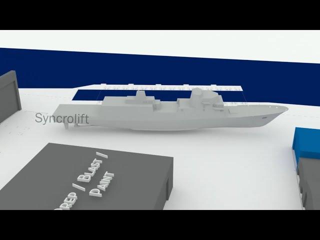 Fincantieri's FREMM Wins US Navy FFG(X) Frigate Competition - Part 3: FMM Shipyard Expansion Plan