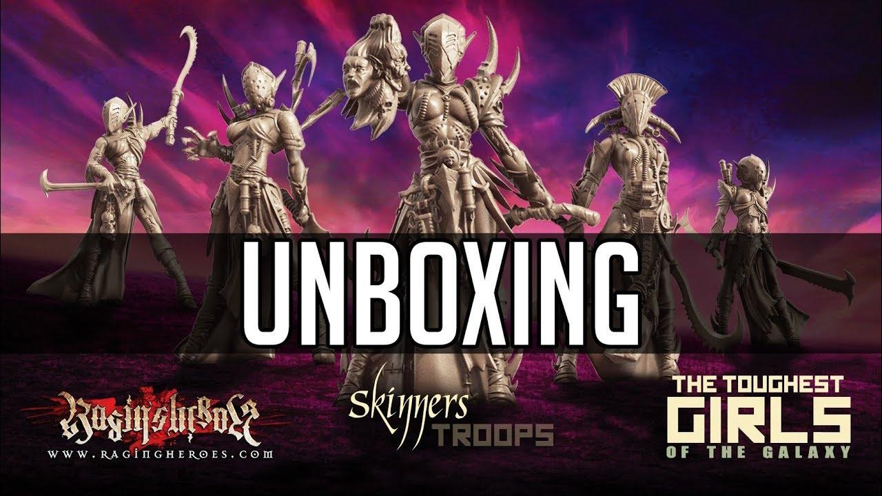 Raging Heroes Skinners Troops Unboxing