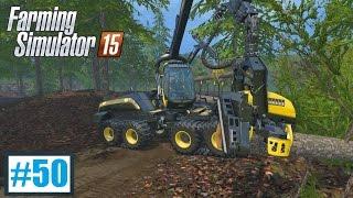 Praca w lesie (Farming Simulator 15 #50), gameplay pl