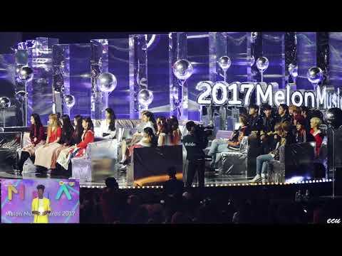 171202 Red Velvet, TWICE, IU, JBJ reaction to BTS Wins