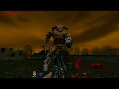 Brutal Doom v21 Test Map Weapons on CyberDemon