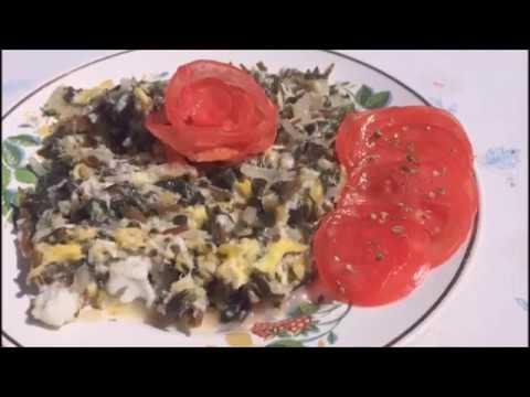 Яичница с портулаком (дандур, Semizotu)