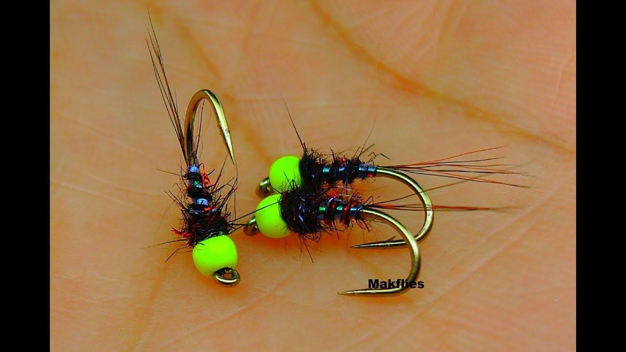 Fly Tying An Early Season Black Hare S Ear Nymph By Mak