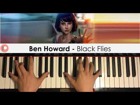 Ben Howard - Black Flies (Piano Cover) | Patreon Dedication #358
