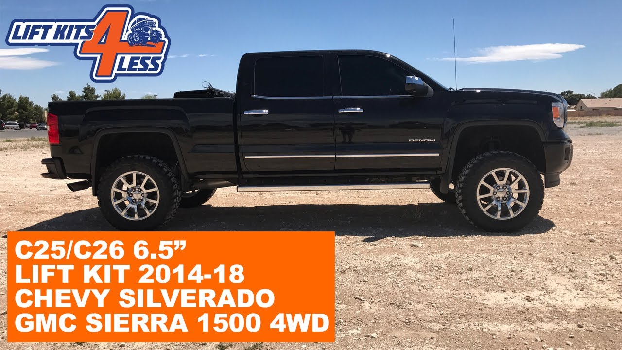 "Zone Offroad C25N/C26N 6.5"" Lift Kit 2014-18 Chevy ..."