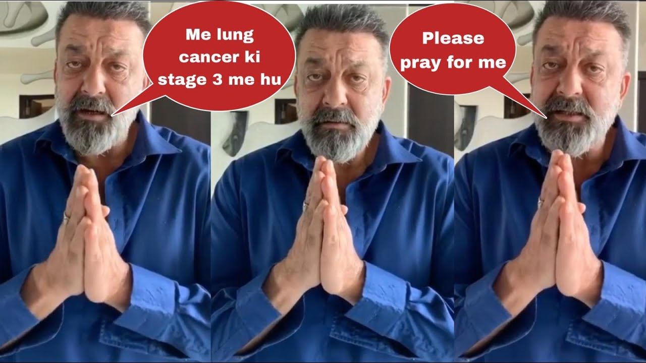 Bollywood star Sanjay Dutt diagnosed with stage 3 lung cancer