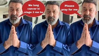 Sanjay Dutt live tells that he is suffering from stage 3 Lung Cancer | Shocking Bollywood News