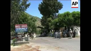 WRAP Swat injured in hospital, Buner district civilians; relief camp