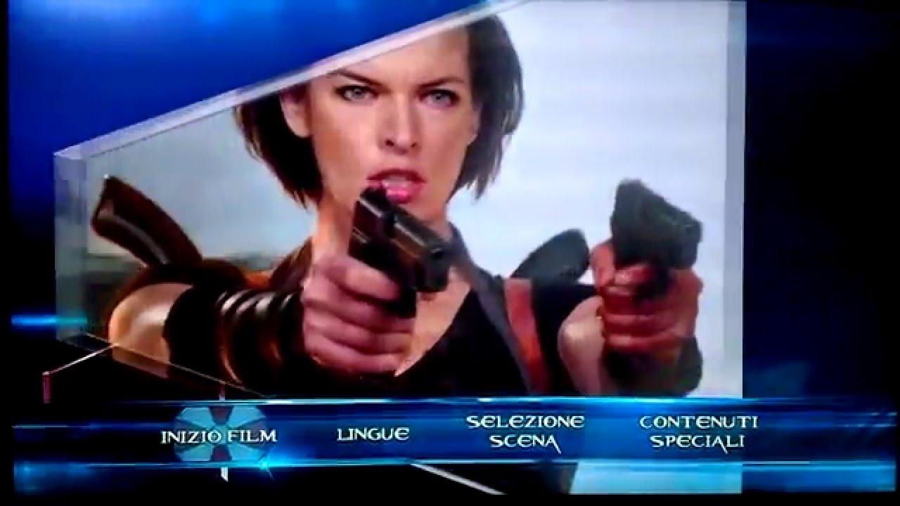Download Resident Evil: Retribution - (2012) - Blu-ray Menu