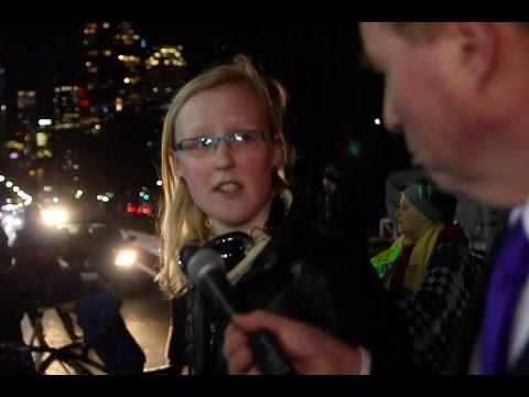 Anti-Trump protesters: We won