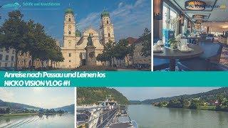 Passau & Erste Schritte: Nicko Vision Donau Kreuzfahrt - Vlog 1