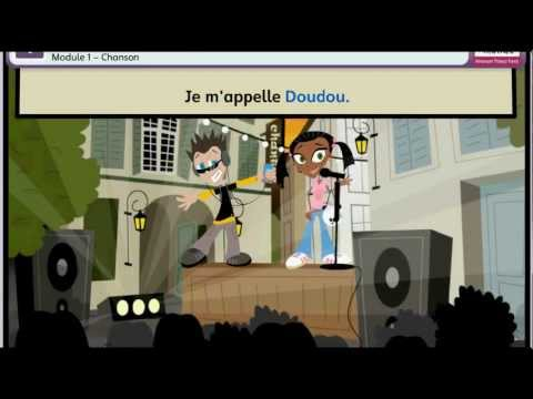 Primary French Greeting song for World Hello Day - Tout Le Monde [HD]