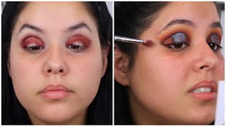 WORST EYESHADOW PALETTE EVER! | Kylie Jenner Holiday Nice Palette | Nelly Toledo