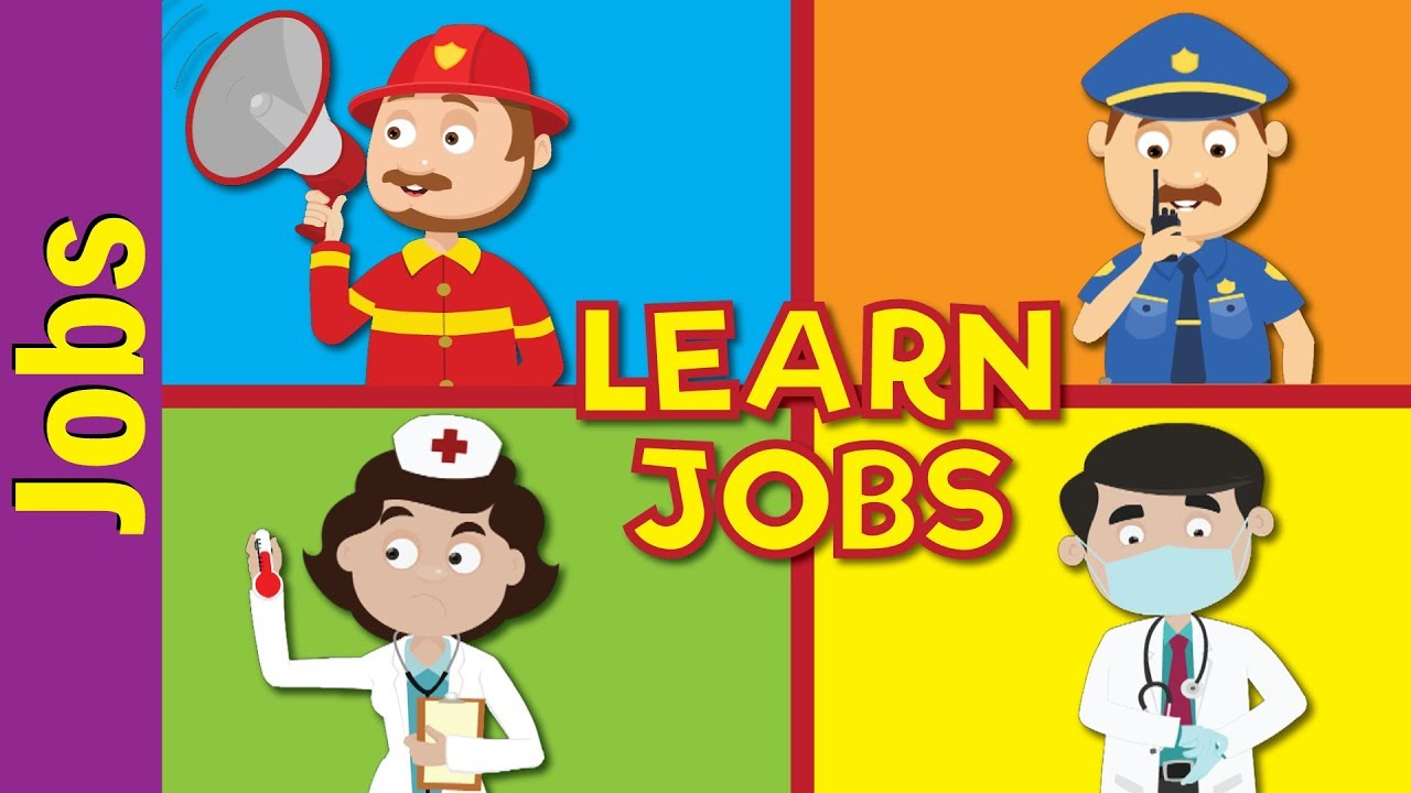 hight resolution of Jobs and Occupations for Kids   What Does He/She Do?   Kindergarten