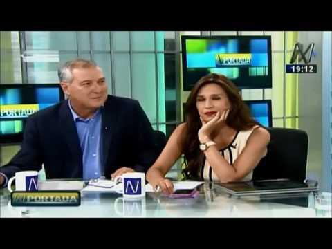 """Entrevista en el programa """"N Portada"""", canal N.  3 abril 2017."""