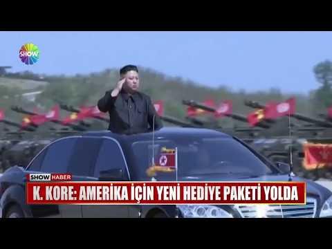 """K.Kore: """"Amerika için yeni hediye paketi yolda"""""""