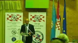 Ministar Tomo Medved na Simpoziju o zdravstvenoj skrbi HRVI