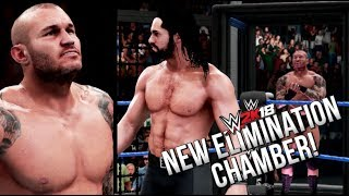 WWE 2K18 OFFICIAL GAMEPLAY! NEW ELIMINATION CHAMBER, RKO ANIMATION & MORE! (RAW Footage)
