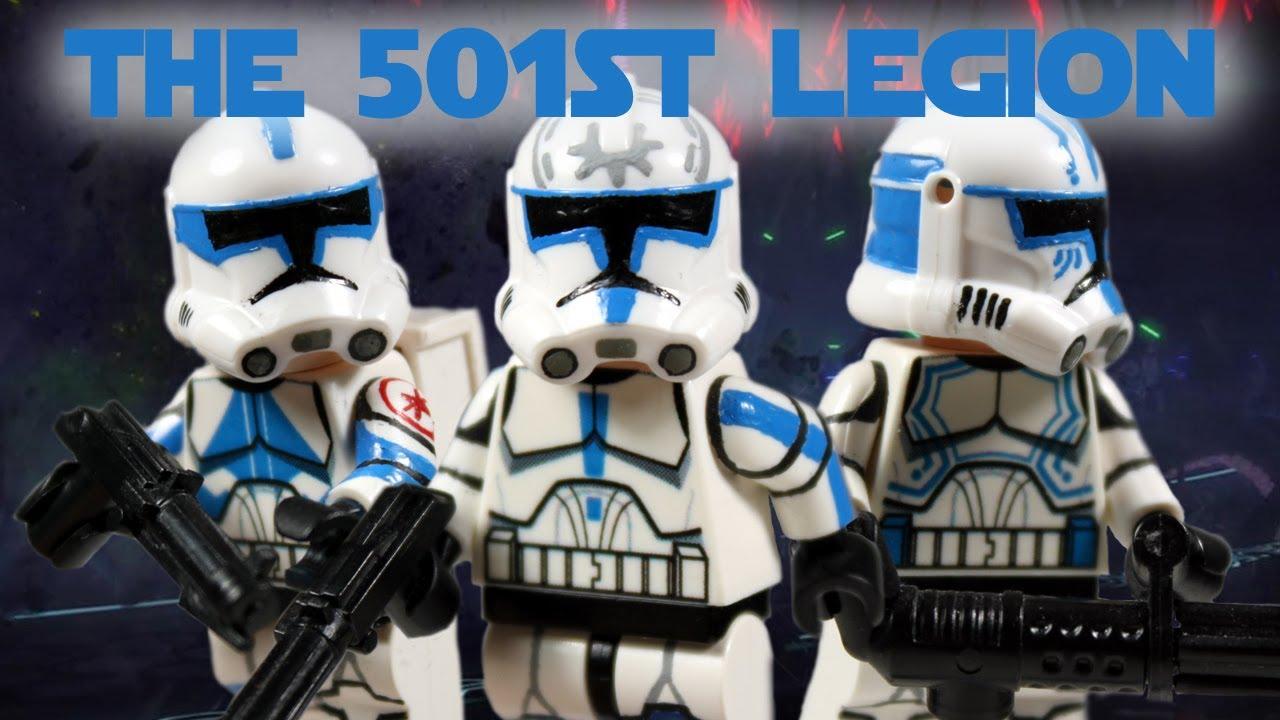 custom lego star wars the clone wars 501st legion kix