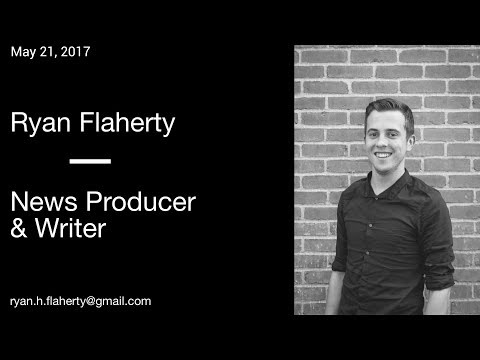 Ryan Flaherty Producer: May 21 6PM Newscast