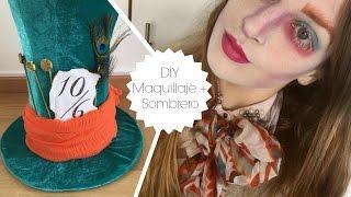 disfraz el sombrero loco the mad hatter costume diy maquillaje sombrero lindo y fcil