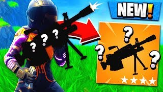 *NEW* MYSTERY LMG UPDATE! Fortnite: Battle Royale Gameplay