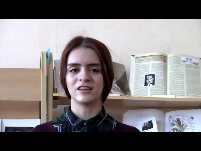 Изображение предпросмотра прочтения – АнастасияАндреева читает произведение «Театры» В.В.Маяковского