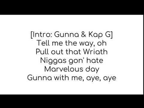 Marvelous day kap g Lyrics