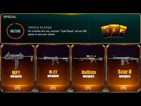 6 DLC WEAPONS in 1 TRIPLE PLAY BRIBE... (OMG!)