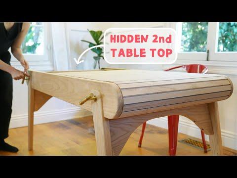 Hidden Jigsaw Puzzle Table