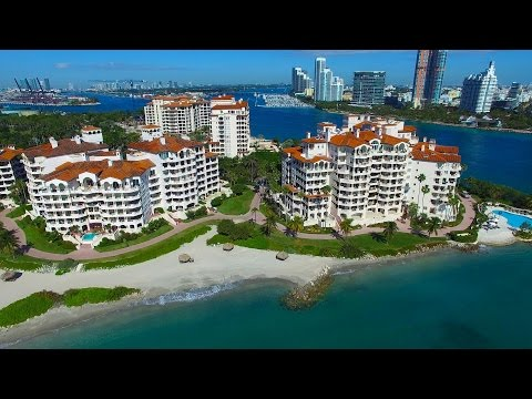 Luxurious FISHER ISLAND, Miami, Florida - 4K Ultra HD